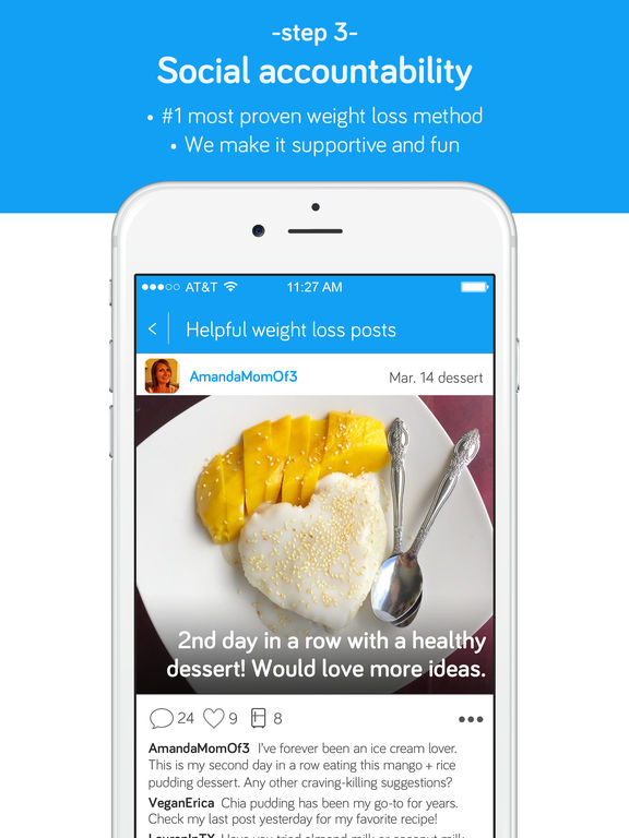 YouFood: The Healthy Eating Community & Photo Food Journal for Recipe Inspiration and Weight Loss Support screenshot