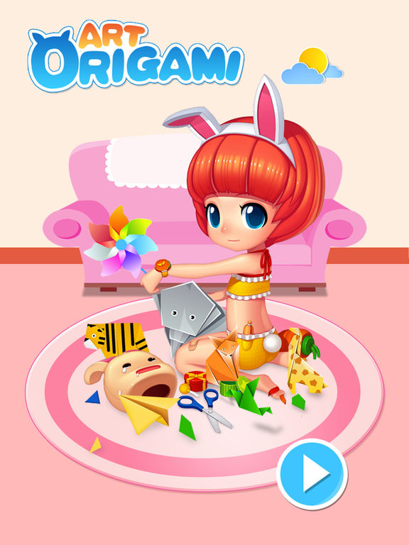 Art Of Origami Kids Educational Games screenshot