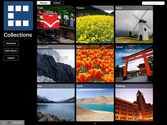Collections for iPad iPad Screenshot 1