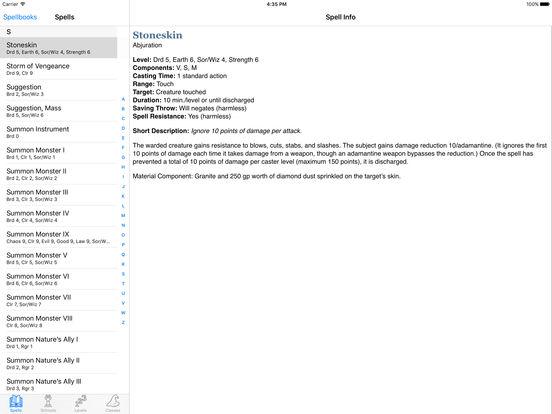 SpellbookMaster iPad Screenshot 1