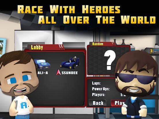 Скачать игру Tube Heroes Racers