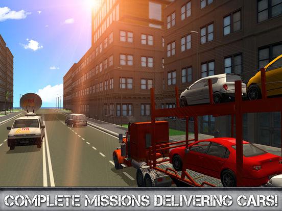 Car Transporter Driving Simulator 3D Full screenshot 7
