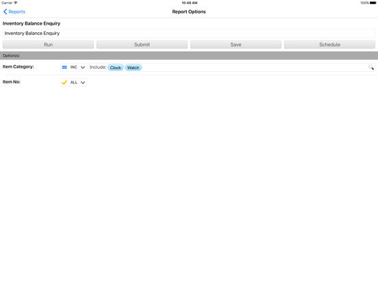 ReportNOW iPad Screenshot 4