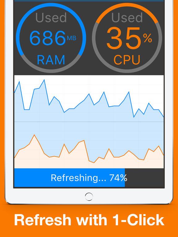 MEM Refresher: Scan RAM & Check Usage Real-time screenshot