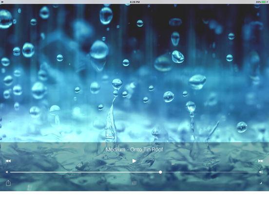 Sleepmaker Rain Free iPad Screenshot 3