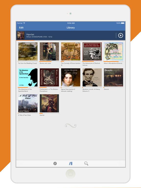 Audiobooks from Librivox - FREE 10,000+ Audio Books mp3 Скриншоты10