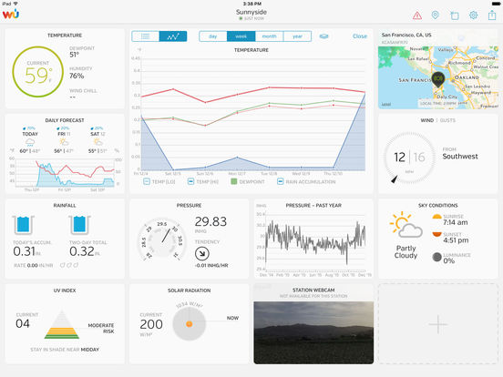 WunderStation – Weather from your neighborhood screenshot 5
