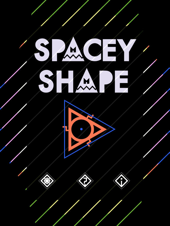 Spacey Shape Screenshots