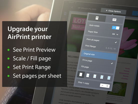Printer Pro iPad Screenshot 3