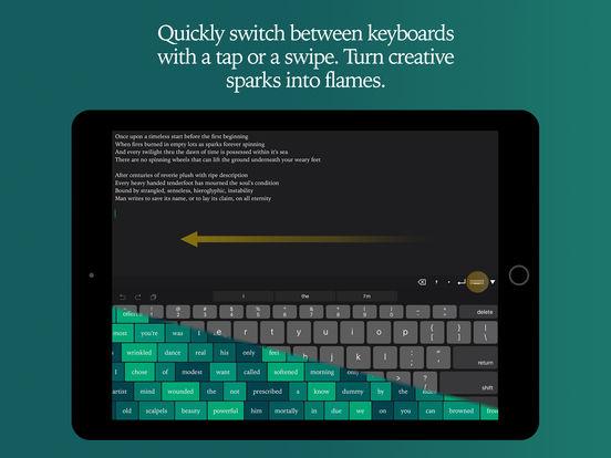 WordPalette - Experimental Creative Writing screenshot