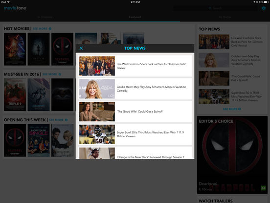 Movies by Moviefone with Theater Showtimes, Trailers ...