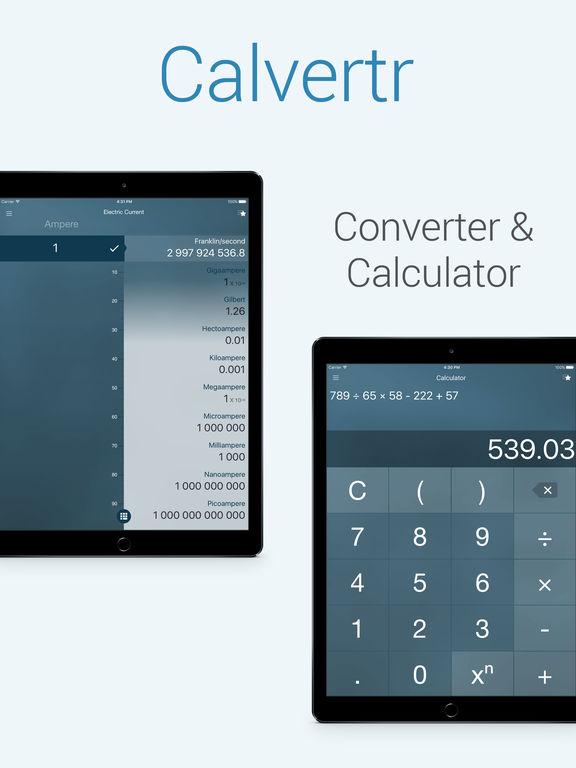 Calvertr - Pro converter Screenshots
