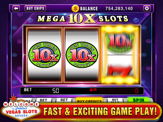 Vegas Slots - Play Las Vegas Casino Slot Machines!screeshot 1