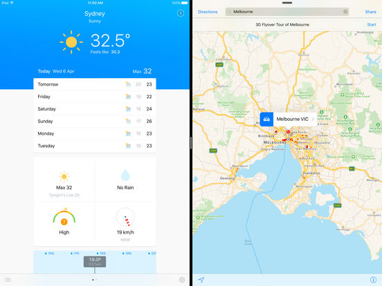 Pocket Weather Australia Screenshots