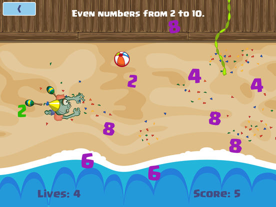 Numbers Zombie - Learn Numbers Game for kids Screenshots