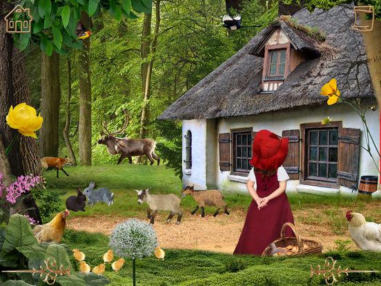 Красная Шапочка - Интерактивная книга