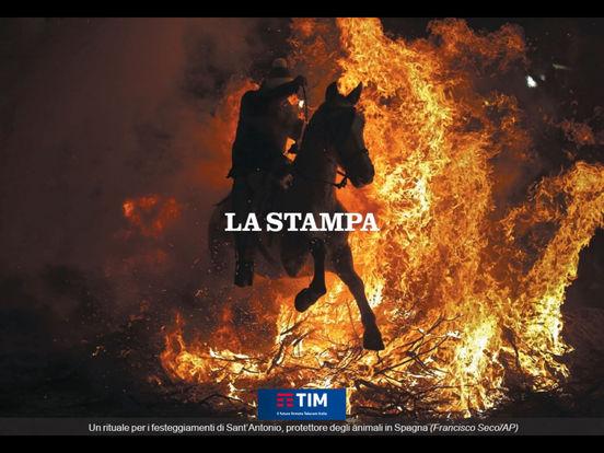 La Stampa iPad Edition iPad Screenshot 3