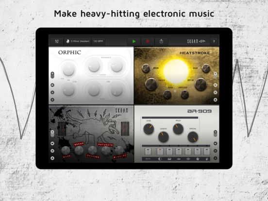 Skram - Electronic Music Maker Screenshot