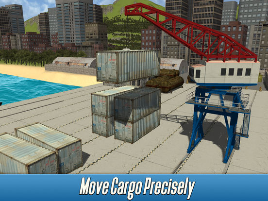 Harbor Tower Crane Simulator 2017 Full screenshot 5