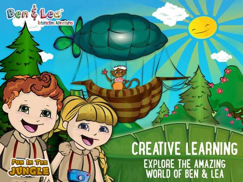 Ben Lea™ Fun in the Jungle - Preschool Educational Learning Games