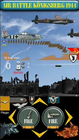 Air Battle Königsberg 1944 Ostpreußen