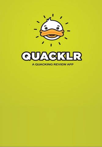 Quacklr - Make your opinion count screenshot 1