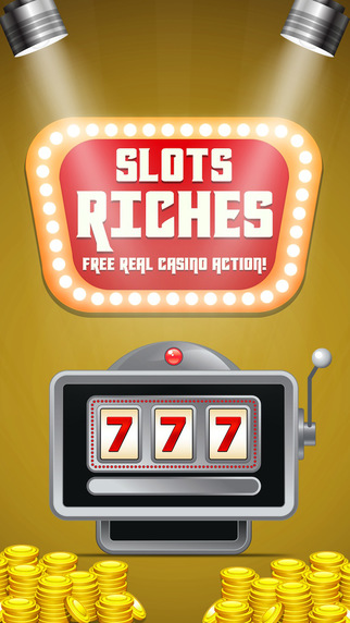 Slots Riches FREE real casino action Pro