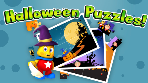 Halloween Jigsaw Puzzles for Toddlers and Kids