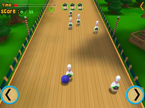 turtles bowling for children iPad Screenshot 4