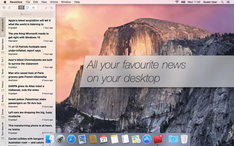 Newsflow Screenshot - 3