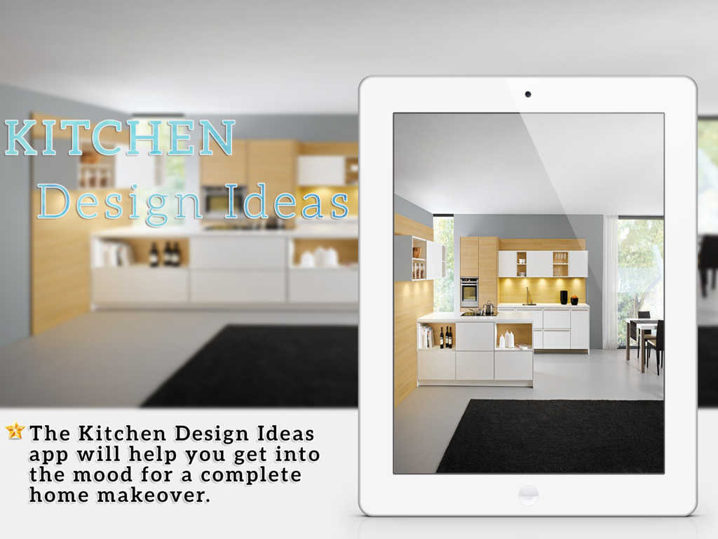 App shopper kitchen interior design ideas for ipad for Kitchen ideas app