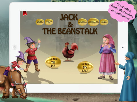 Jack and the beanstalk for Children by Story Time for Kids