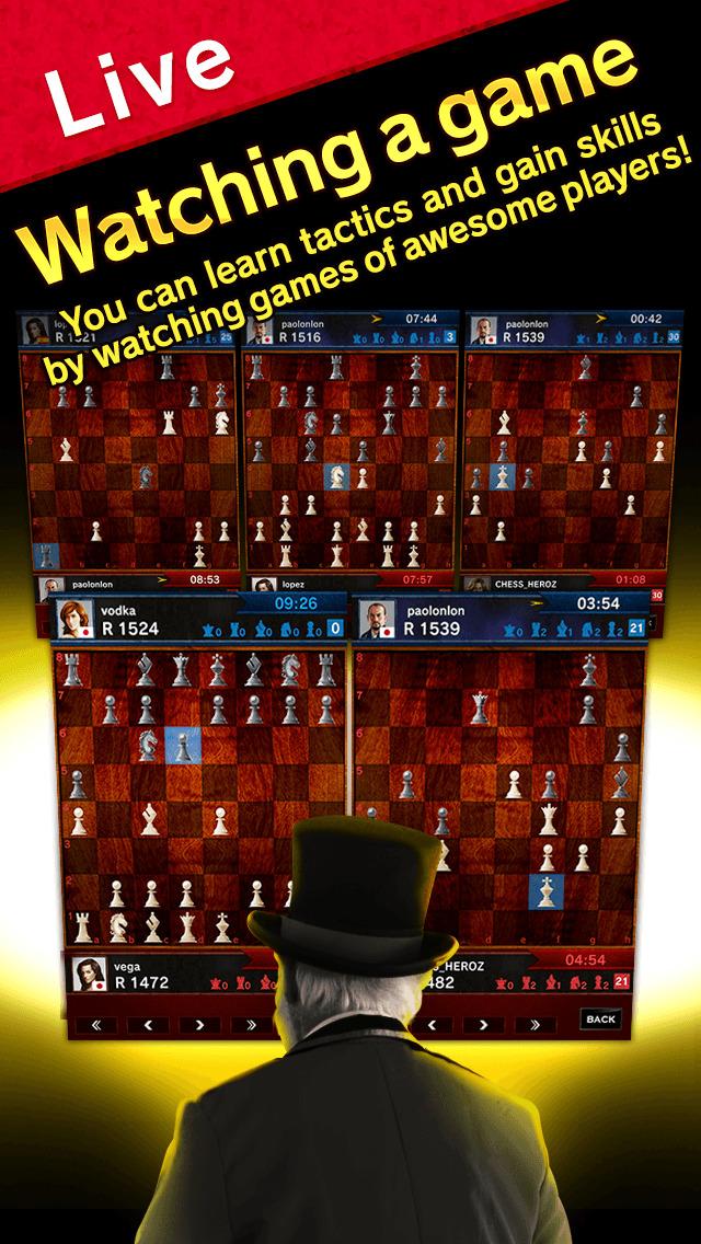 CHESS HEROZ -online chess board games Скриншоты6