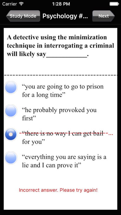 AP Psychology Exam Prep / Review iPhone Screenshot 3