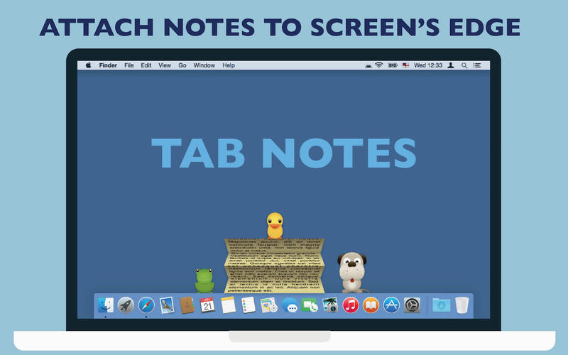 Tab Notes Screenshot - 1