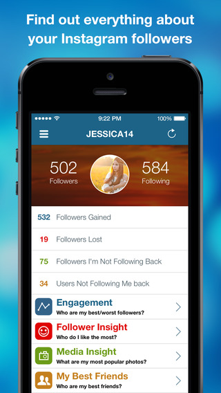 My Followers - Track Follower Likes Comments Photos For Instagram