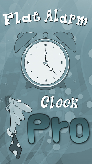 Flat Alarm Clock Pro - Your Oversleeping Problems Are Over Really