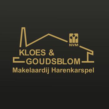 Kloes & Goudsblom Makelaardij Harenkarspel LOGO-APP點子