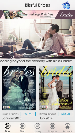 Blissful Brides Magazine