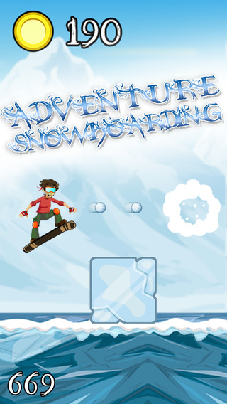 Adventure Snowboarding – Crazy Sports Game in the Age of Ice and Snow