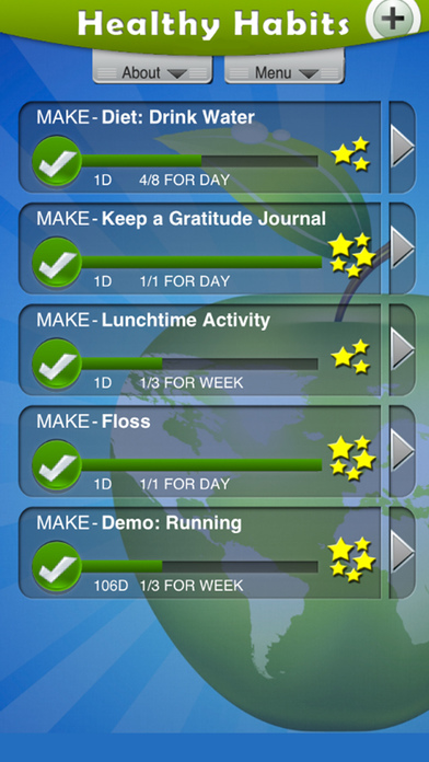 Healthy Habits screenshot