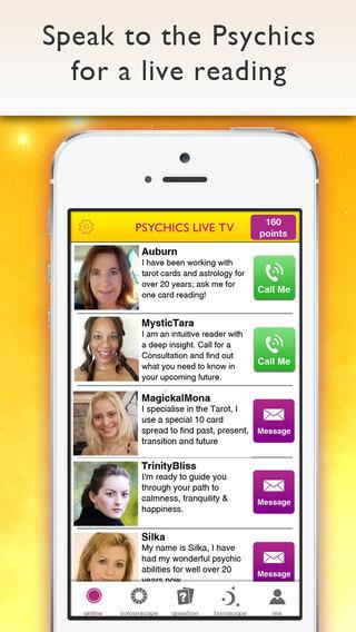 Psychics Live TV - Psychic Tarot Card Readings Free Horoscopes daily star signs