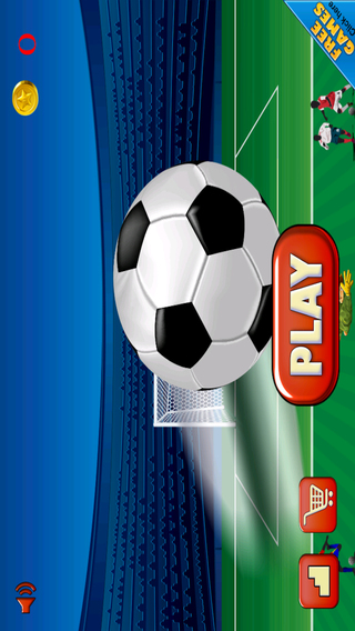 Awesome Football Sports Evolution Strikers - Smash Goal Edition FREE