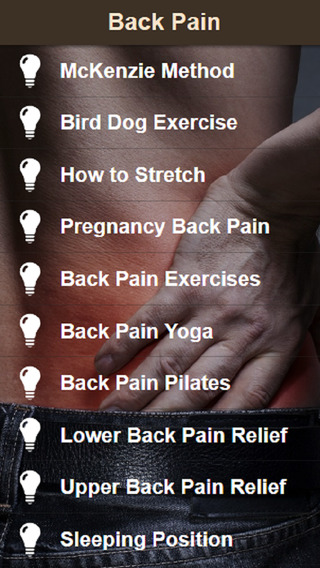 Back Pain Relief - Exercise for Low Back Pain and