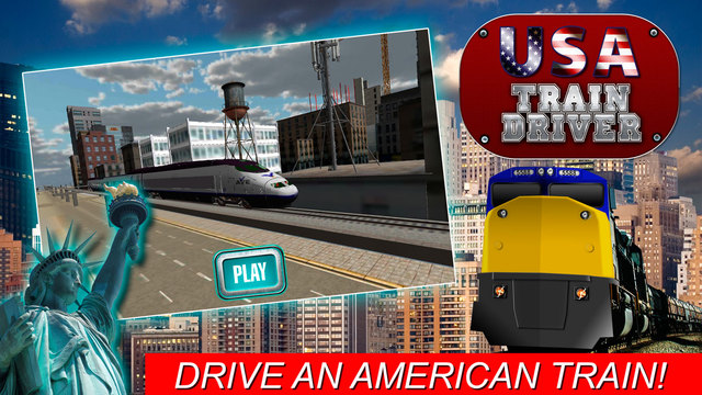 USA Train Driver Simulator 3D Screenshots