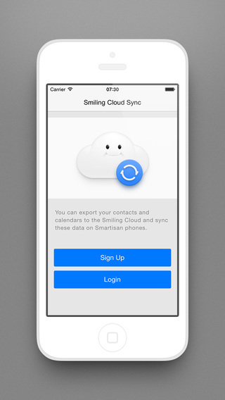 Smiling Cloud Sync
