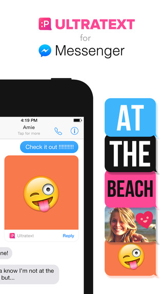 Ultratext for Messenger