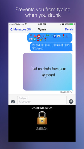 Drunk Mode Keyboard Free - Prevents Typing When Drunk