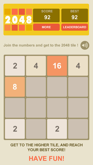 Version 2015 for 2048