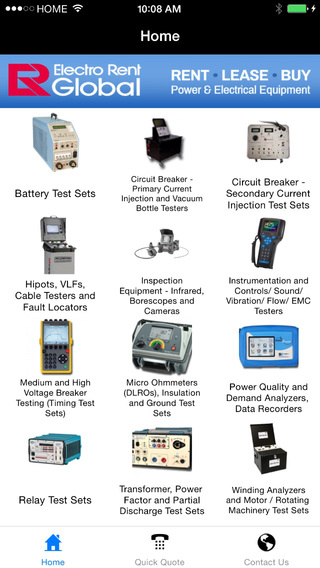Electro Rent Industrial Products
